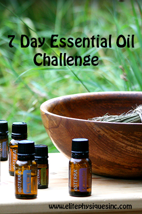Essential Oil Challenge
