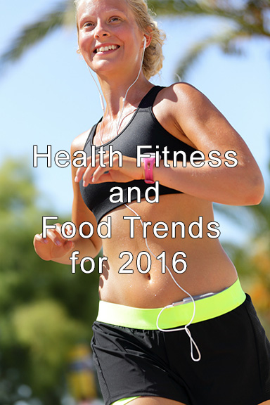girl running health and fitness trends