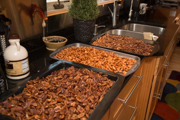 Soaked Crispy Nuts