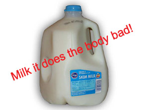 do you think skim milk is good for you read on