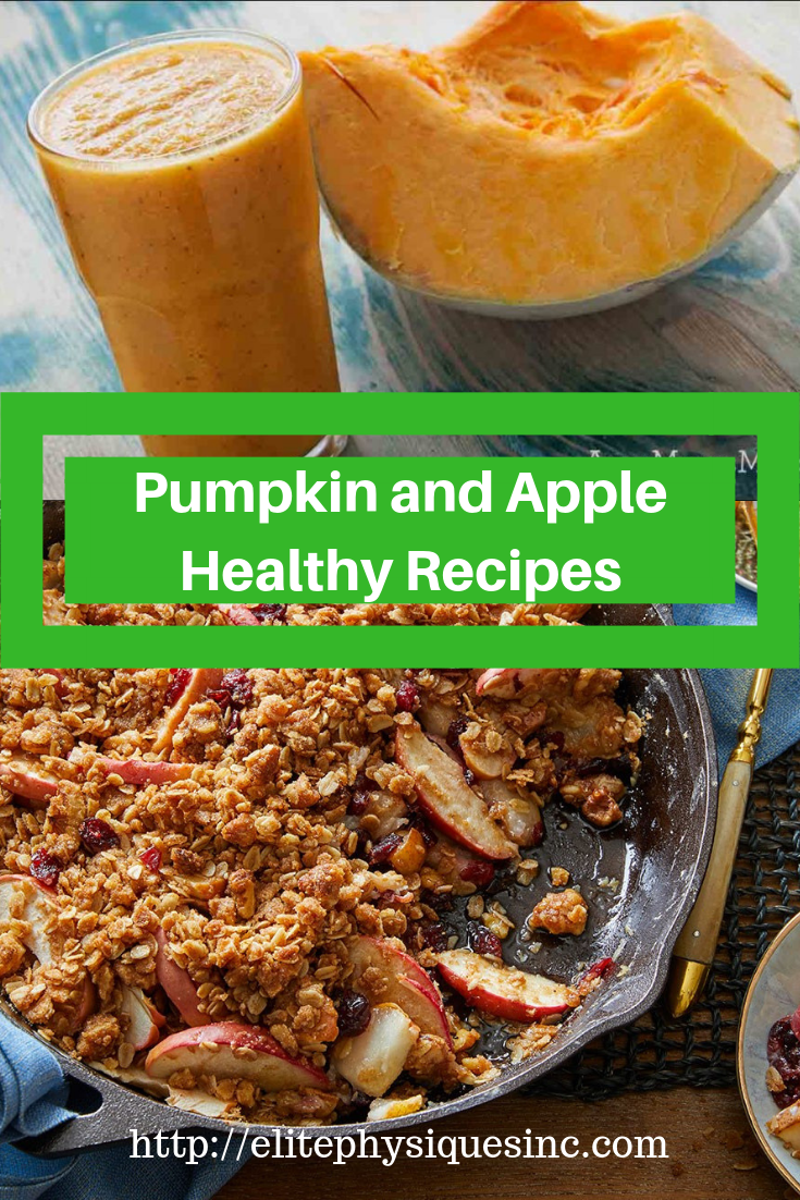 Pumpkin and Apple Healthy Recipes
