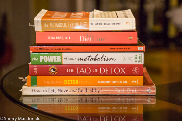 Books help you get lean & healthy