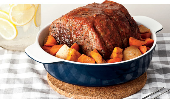 healthy slow cookerBEEF WITH ROOT VEGETABLES